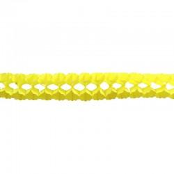 Guirlande boa 17cmx4m jaune