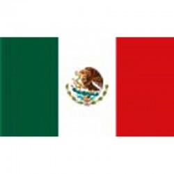 Pavillon Mexique 150x90cm