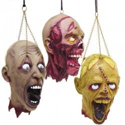 Tête zombie  - 3 modèles