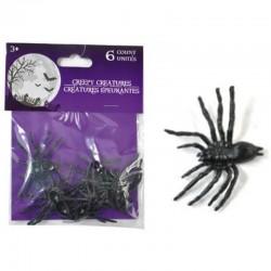 6 araignées  4.3cm