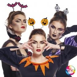 Serre tête Halloween néons