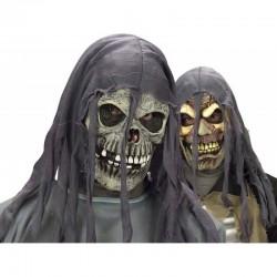2  Masques d'horreur avec cagoules