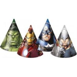 6 chapeaux avengers multi...