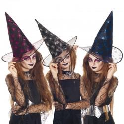 Chapeau enfant sorcière au...