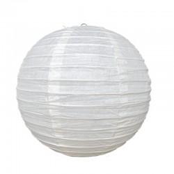Lanterne japonaise en papier 25 cm ivoire