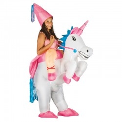 Costume gonflable  licorne...
