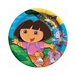 8 assiettes Dora