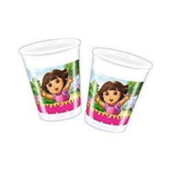8 Gobelets Dora