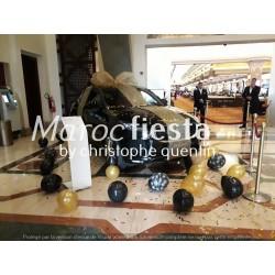Décoration voiture jaguar...