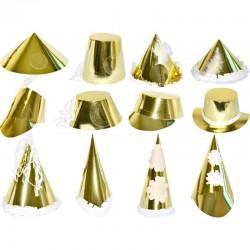 Chapeau grand modèle doré