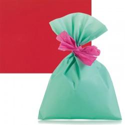 Sachet cadeau rouge mat...