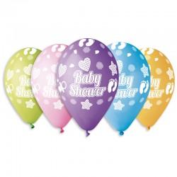 10 ballons baby shower diam...