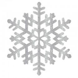 Flocons de neige à suspendre 37 X33 cm