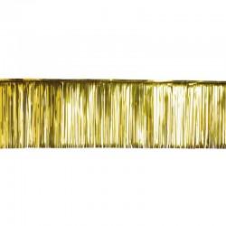 Rideau lamelle 50x500 cm or
