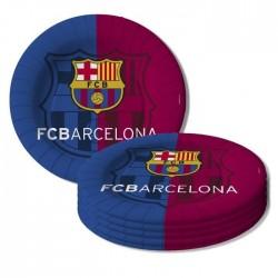 10 assiettes FC BARCELONE