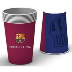 6 gobelets FC BARCELONE
