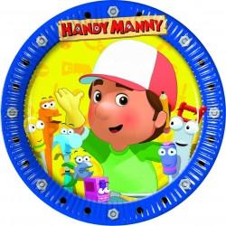 10 Assiettes Manny