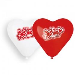 Sachet de 6 ballons coeur...