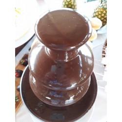 Fontaine de chocolat en...