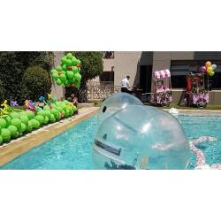 Bulles géantes eau -...