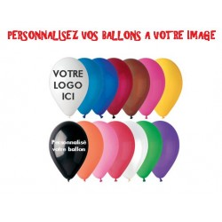 Ballon hélium personnalisé