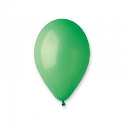 Lot de 10 ballons verts 30 cm