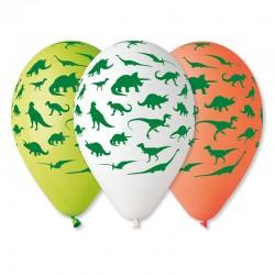 Sachet de 5 ballons motif...