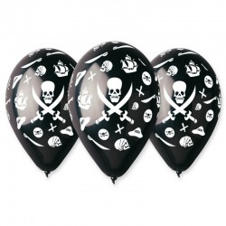 Sachet de 10 ballons pirate...