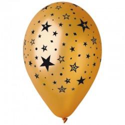 Ballons étoiles or