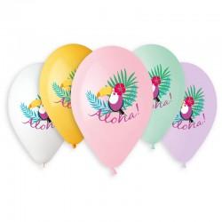 Sachet de 5 ballons aloha...