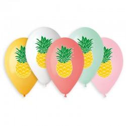 Sachet de 5 ballons ananas...