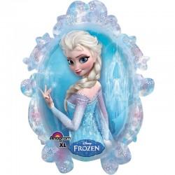 Ballon la reine des neiges...