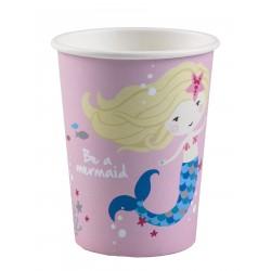 8 Gobelets Be a Mermaid...