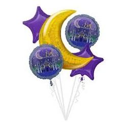 Bouquet de Ballons Foil Eid