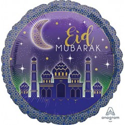 Ballon standard Eid Mubarak...