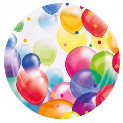 8 Assiettes Balloons, 23cm