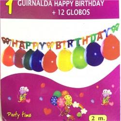 Guirlande HAPPY BIRTHDAY 2M...