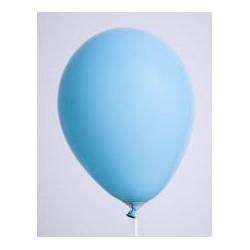 1 ballons bleu lagon 30 cm