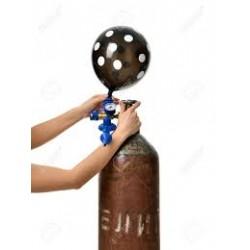 Hélium remplissage ballon...