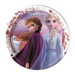 Assiettes frozen 2  lot de 8
