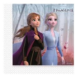 serviettes frozen 2 lot de 20