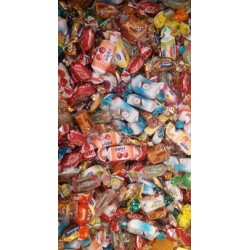 Bonbons assortis en vrac...