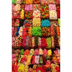 Bonbons et gommes assortis...