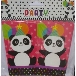 Boite pop corn panda lot de 6