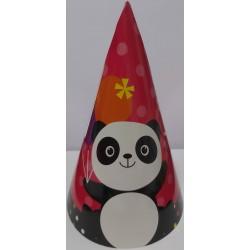 Chapeau panda lot de 6