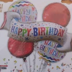 Bouquet 5 Ballons Foil...